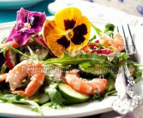 Блюда из цветов. Самые вкусные и оригинальные